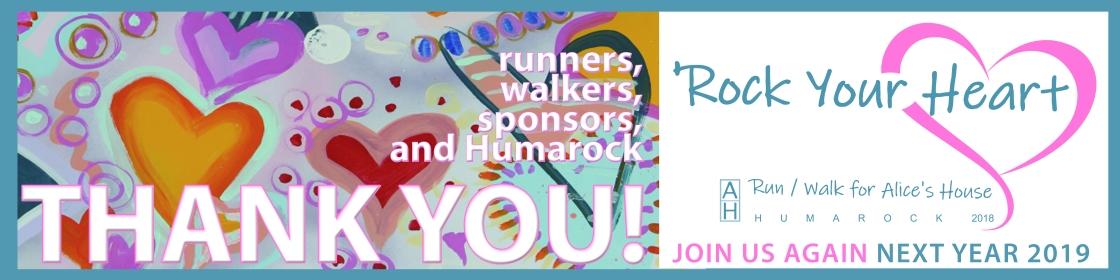 2x8foot Alice Thank You Banner